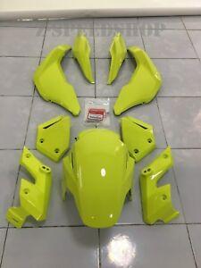 Grom honda genuine msx125 grom sf fairing set/decals lemon ice yellow 2017