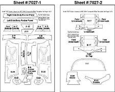 Scale Motorsport 1/24 2001 Subaru WRC Template Comp. Fiber Decal Set 7027