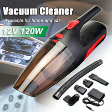 120W 12V Car Vaccum Cleaner Portable Cordless Handheld Rechargeable Wet/Dry Home