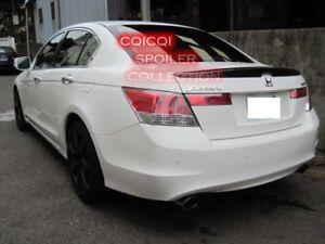 Painted Honda 08-12 ACCORD Sedan OEM type trunk spoiler color:NH578 white ◎