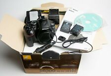 NIKON D5300 24.2MP Digital SLR Camera - (Body Only with some Extras)