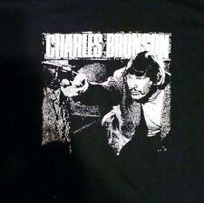 CHARLES BRONSON  T-Shirt. small medium large or xlarge power violence CRUDOS