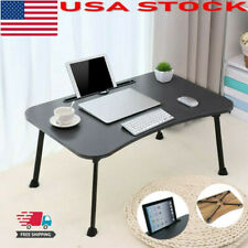 Large Bed Desks Foldable Portable Multifunction Laptop Desk Lazy Laptop Table US