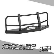 NEW Metal Front Bumper for 1/10 RC4WD D90 Axial SCX10 RC Rock Crawler M7D7
