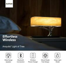 Ampulla Bedside Lamp | Built in Wireless Charger | Bluetooth Speaker |Sleep Mode