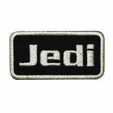 "Star Wars ""Jedi"" Iron-On Patch Name-Tag DIY Cosplay Costume Accessory Applique"