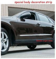 4 Pieces Chrome Door Body Side Moulding Trim Strip Fit for Audi Q5 2009-2016