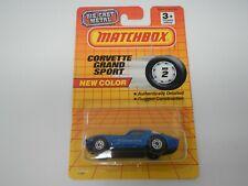 Matchbox Corvette Grand Sport Blue MB2 (1)