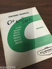 Cushman Electric Golf Cart Owners Manual Wiring Parts Car Truckster
