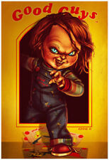Childs Play Movie CHUCKY Clown Doll Decoration Fridge Magnet #3
