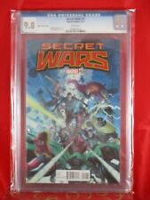 Marvel Comics Secret Wars #1 CGC 9.8 White Pages 7/15 RIBIC VARIANT COVER