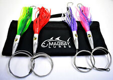 Torpedo Speed Wahoo Trolling Set with Lure Bag + Wire and Cable Rigged MagBay