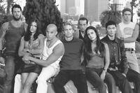 Fast and Furious Vin Diesel Paul Walker Jordana Brewster cast 11x17 Mini Poster