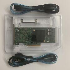 LSI SAS 9341-8i RAID card and cables