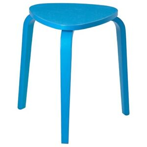 Brand New IKEA KYRRE Solid Blue Stackable Stool Chair Side Table 104.349.79