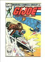 G.I. Joe A Real American Hero # 11 NM-/NM Cond. FREE SHIPPING!