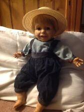 "Berenguer 17"" Baby Boy Doll- Blonde Hair / Brown Eyes"