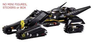 LEGO 76055 - Batman: Bat-Tank ONLY - NO MINI FIGS, STICKERS or BOX