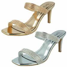 Ladies Anne Michelle Glittery High Heel Sandals