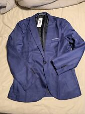 PX Fushi Boys 3XL Blue Blazer One Button