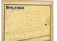 1870 map of Holyoke South West Section, Mass. from Atlas of Hampden County