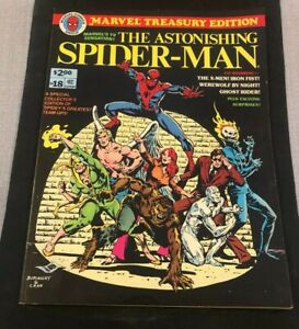 Marvel Treasury Edition #18 The Astonishing Spider-Man 1978 Co-Starring X-Men!