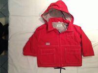 Giubbotto Fagottino Basic Wear Rosso - Taglia 18mesi - Usato