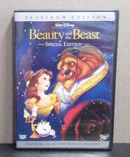 Beauty and the Beast    (2 DVD Platinum Edition)     LIKE NEW