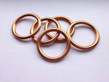 Folded Copper Sump Plug Washers (x5) - 24x32x2.5 - Audi and Volkswagen.