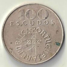 1974 PORTUGAL 100 ESCUDOS COIN DBW