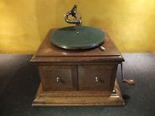 His Masters Voice HMV Grammophon Hornless gramophone Model 1  Original France