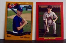 2002 Topps Joe Mauer Rookie Card #622 Draft Picks Minnesota Twins