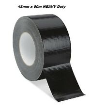 "SOLIDE ARGENT DUCK Duct Tissu Imperméable Gaffer Gaffa Tape 2/"" 50 mm x 15 m"