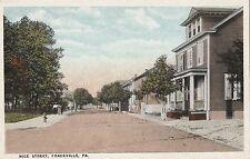Nice Street in Frackville Pa Old
