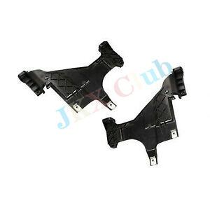 A Pair L&R Headlight Headlamp Bracket Mount Plates h For AUDI A4 B8 A5 Allroad