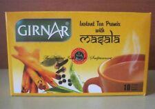 Girnar Instant Premix Chai Tea with Masala Spice - 10 Single Serve Sachets