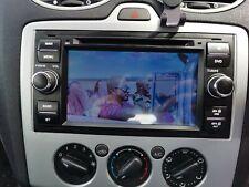 "7"" GPS SAT NAV Stereo Car CD DVD Player BT Radio For Ford Focus S-Max C-Max UK"
