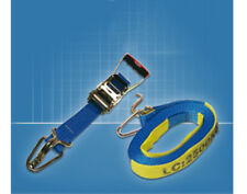 Ratchet Tiedown with Wear Sleeve and Hook Keepers - Secure A Load