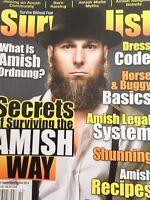 Survivalist Magazine What Is Amish Ordnung September/October 2014 010918nonrh