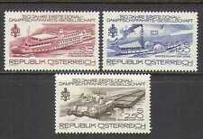 Austria 1979 Boats/Ships/Nautical/Steam 3v set (n23120)