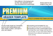 75 Fully Layered PSD Header Templates That You Can Modify in Minutes on CD