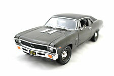 Ertl American Muscle Elite 1969 Chevrolet Nova Ss 396 Brown 1/18 Diecast Cars