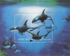 "Killer Whale Miniatura 4 ""x 3"" Mnh Sello sheetlet"