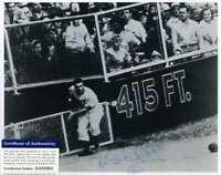 Al Gionfriddo PSA DNA Coa Autograph Hand Signed 8X10 Dodgers Catch Photo