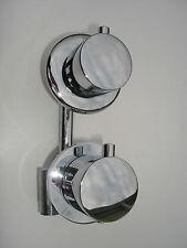 THERMOSTATIC SHOWER MIXER VALVE TAP, 1 WAY , BRASS & CHROME, CERAMIC DISC, 045N