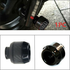 1PC Motorcycle Front Fork Frame Sliders Crash Protection Engine Black Protector