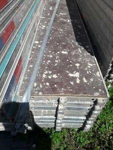 Gerüstboden Gerüst Tafel Belag Matratze 2,5m Gebraucht Layher