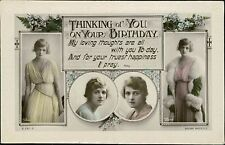 Rita Martin Greetings Postcards Lot  Posted Or Notes Verso  QS.294