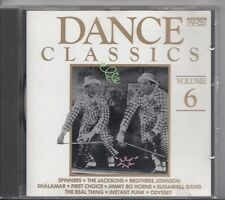DANCE CLASSICS VOLUME 6 1988 ARCADE CD Prince Spinners Brothers Johnson Odyssey