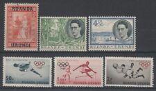 Olympics Rwandan Stamps